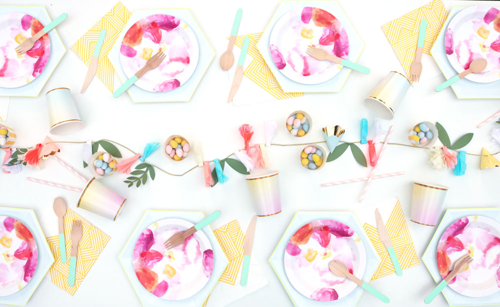 Let us pack the party - In March we debuted our Pretty in Pastel Paty Box, which conveniently includes two of our floral featured items! Check out the full box to see what other fun springtime items are included.