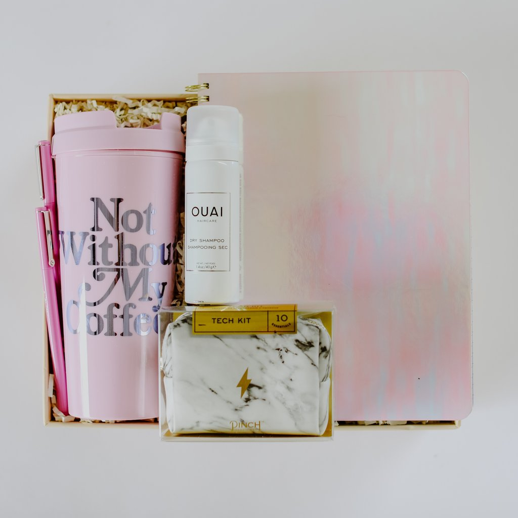 Gift Box - BoxFox is the Confete of gift boxes. They have lots of prepackaged gift boxes to shop from (we love this Hustle box for any new grad), or you can create your own! box prices vary