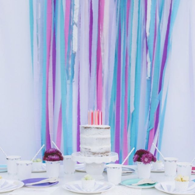 Looking for a magical way to celebrate? Check out our Unicorn Birthday Party Box! Just want the streamers or candles? Customize a box for your perfect party! #birthday #decor #unicorn #unicornparty
