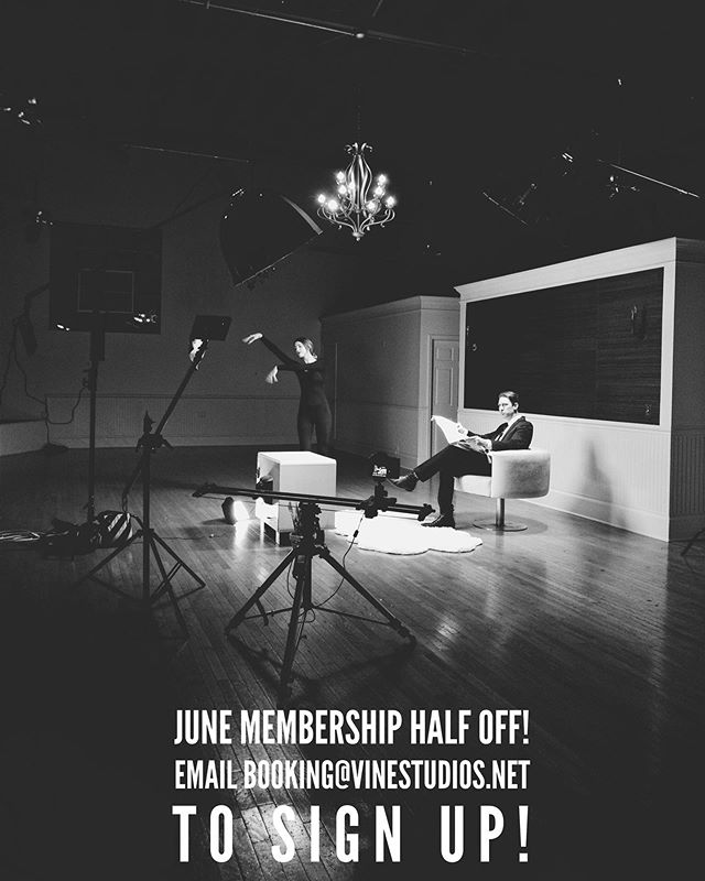June membership half off! Message us to sign up or email booking@vinestudios.net #murfreesboro #murfreesborotn #studio #tennessee #membership