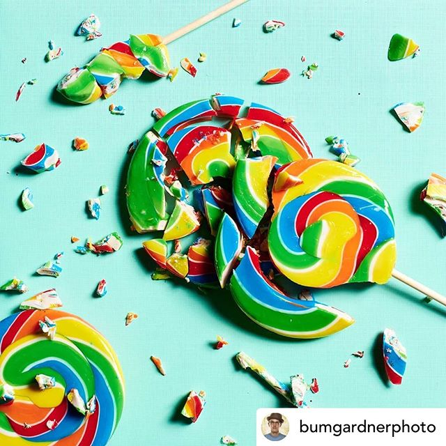 @bumgardnerphoto One of my favorite recent images. Taken for a lifestyle Boys clothing brand. Styling by @mamamegstyle.  #lollipop #sucker #candy #vibrant #art #commercialart #commercialphotography #nashvillephotographer #productphotographer #conceptart #kidscandy #Rainbow #foodphotographer #paulcbuff #nikonz7 #tennessee #liveauthentic