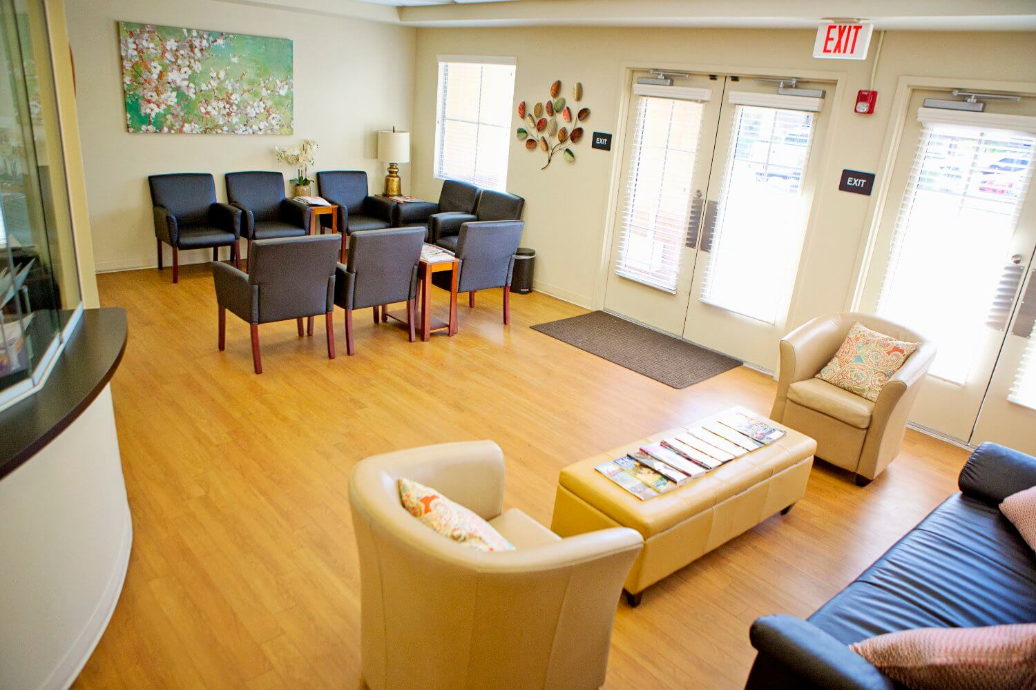 Dr. Kathryn Donesa-Zuzak Clinic Waiting Room