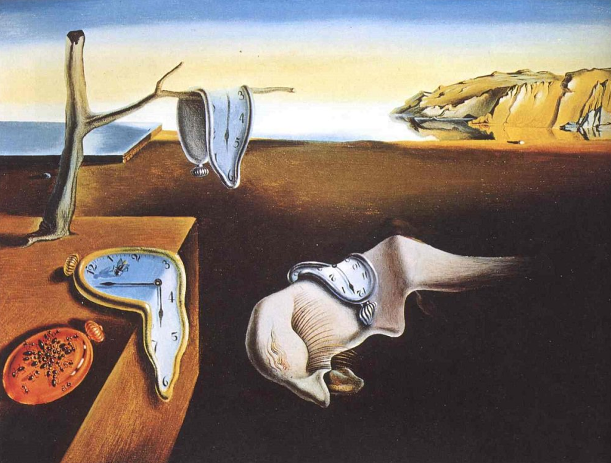 The Persistence Of Memory, Salvador Dali