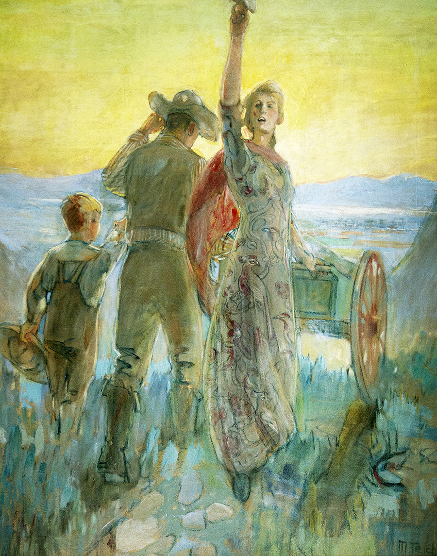 SHOUTING HOSANNAH BY MINERVA TEICHERT