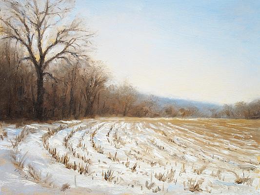 winter fields by  Joe (Kaz) Kazimierczyk