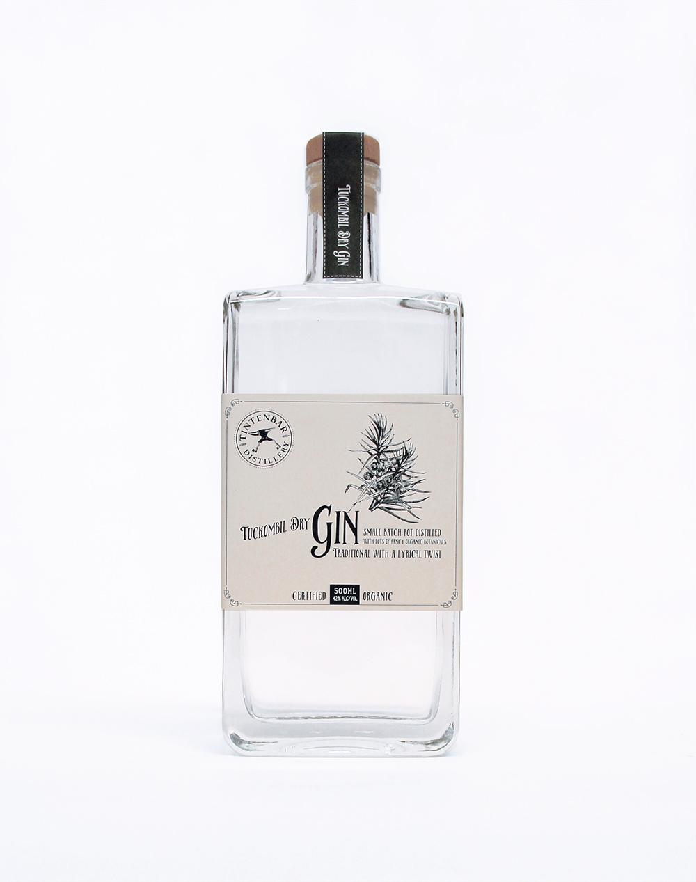 Tuckombil Dry Gin 500ml product photo
