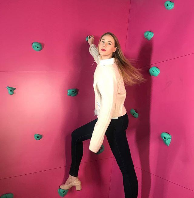 how I climb rock walls #ThatLadyThing