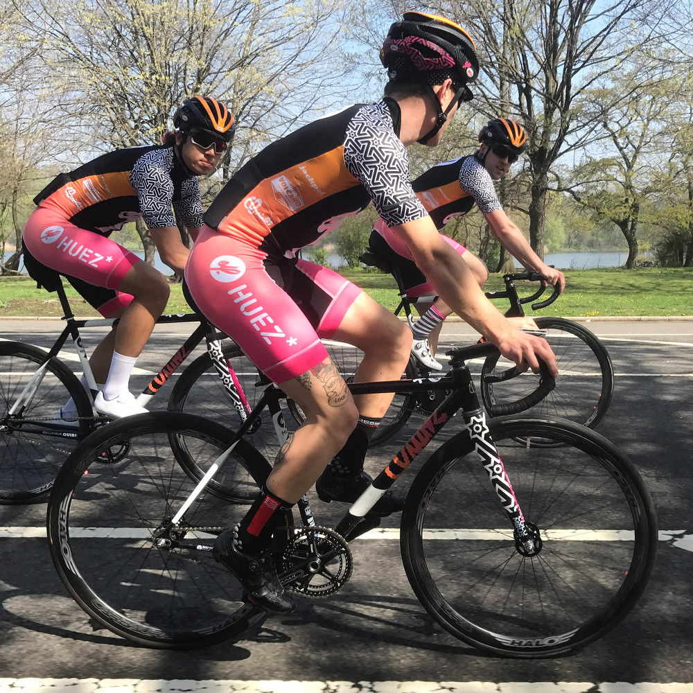 Fixed Gear and Road Bike Criterium Team from East London – A group of friends who dedicate their time to riding the hell out of Track and Road bikes competitively and socially.