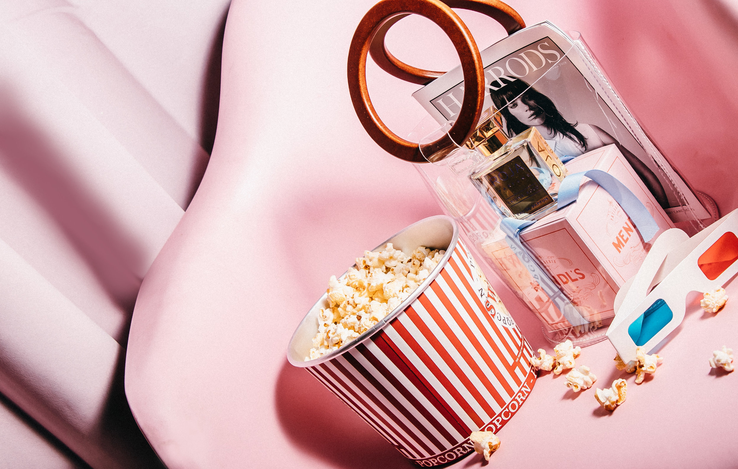 Movie night with Roja - Enigma Aoud:Fresh, Cool, Sweet, Fruity, Warm, Powdery