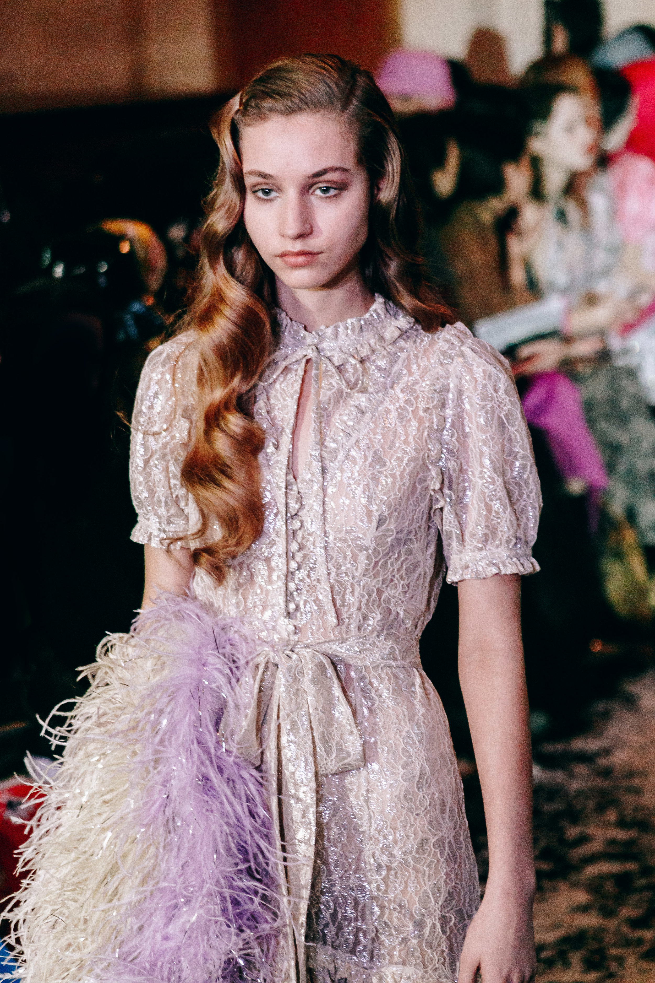 London Fashion Week Ryan Lo AW19 catwalk