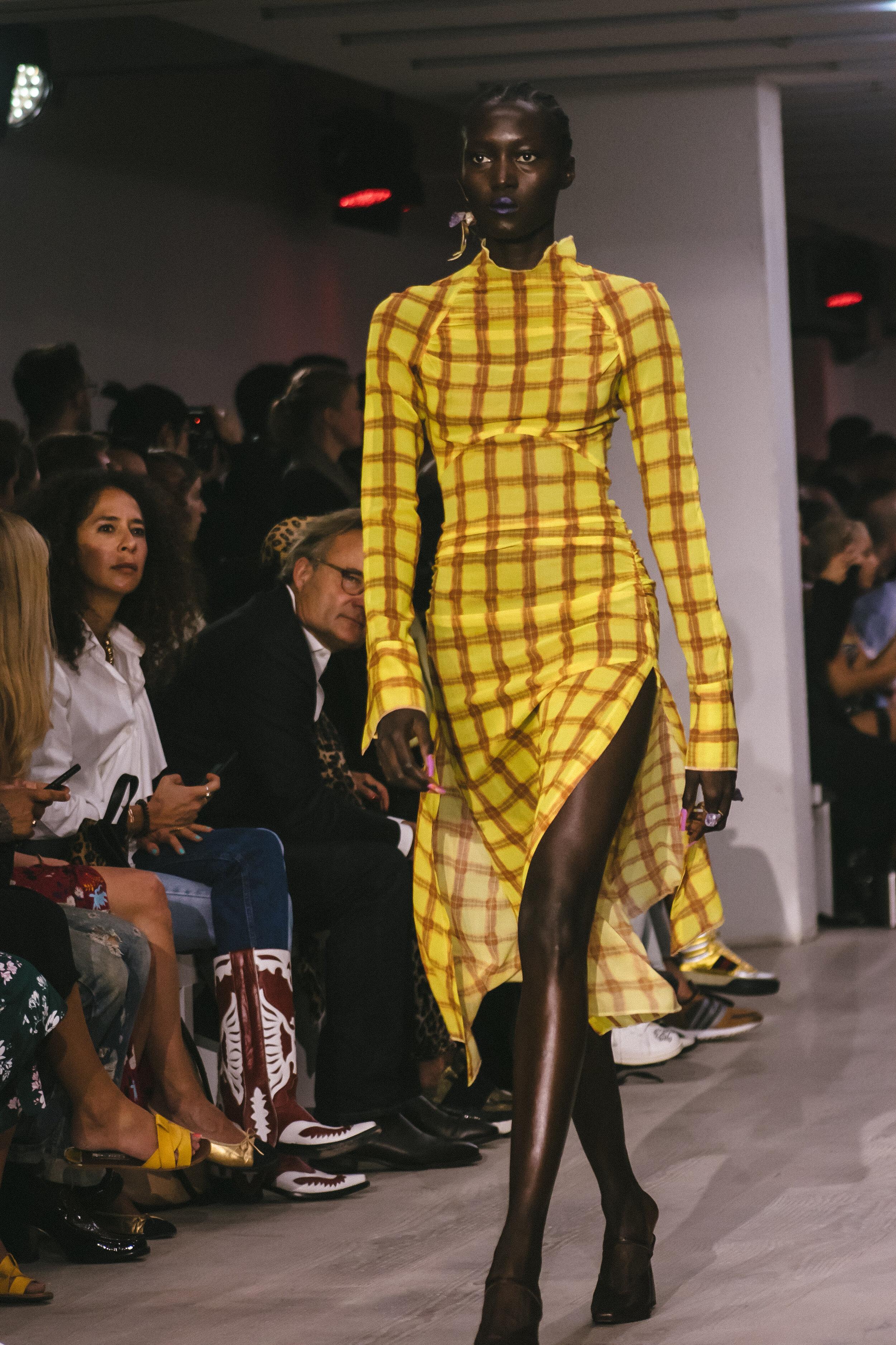 London Fashion Week Charlotte Knowles Spring summer 2020