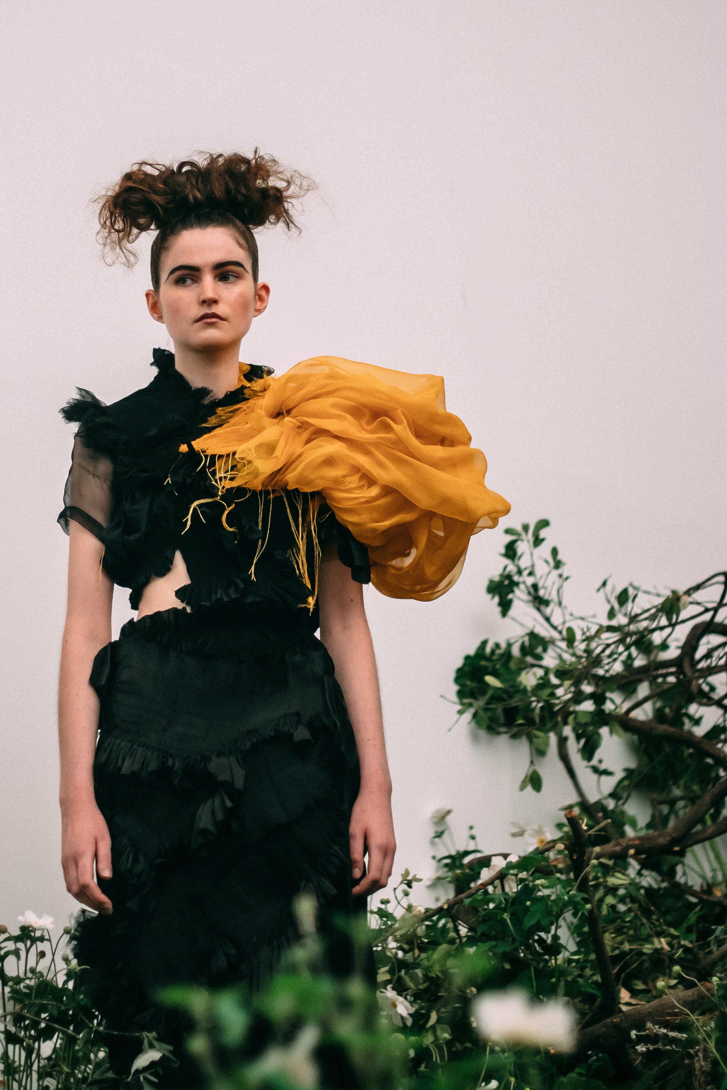 London fashion week Caroline Hu SS20