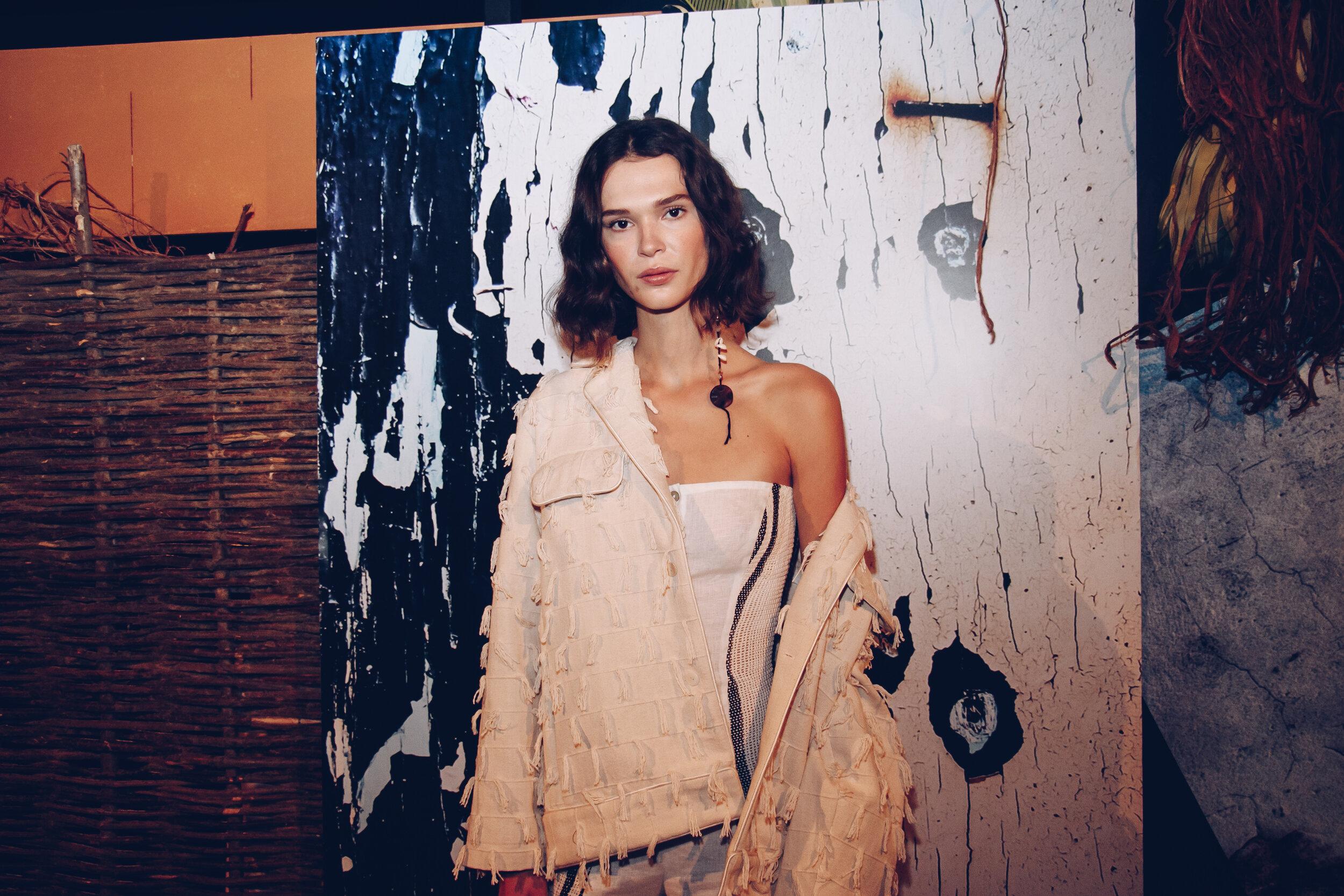 London Fashion Week Luna Del Pinal Spring summer 2020