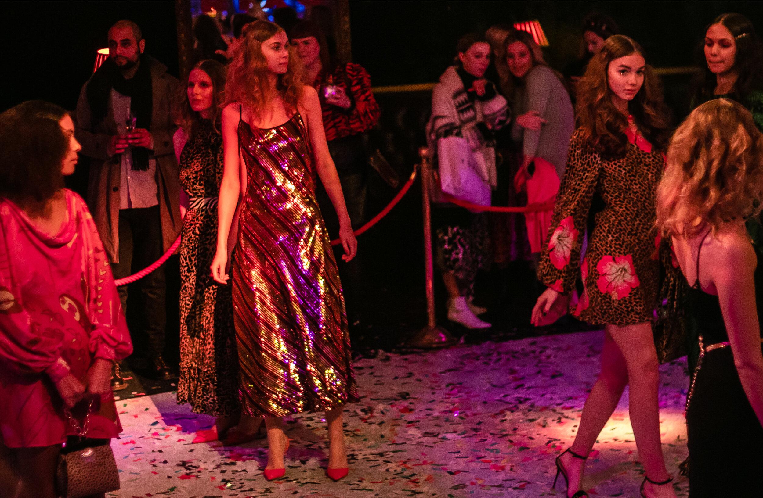 London fashion week Rixo AW19 presentation