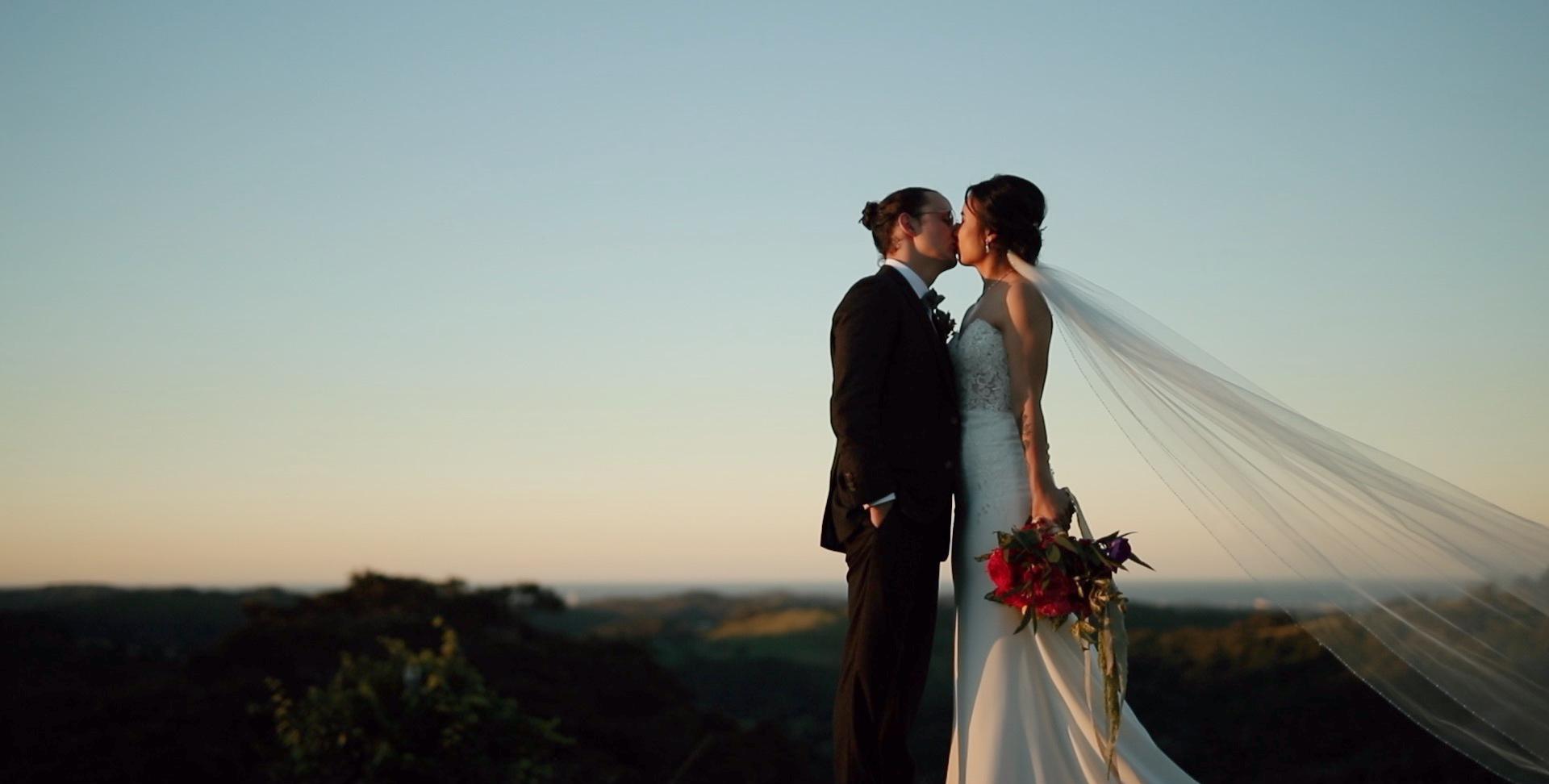 Brisbane based wedding videography.