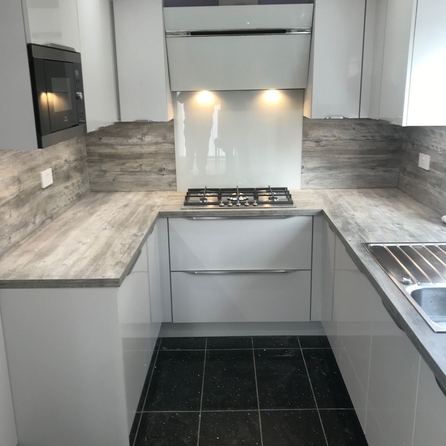 "See Our Case Studies - ""Amazing work guys!! My mum and dad are over the moon with there kitchen it's absolutely gorgeous!! Thanks very much 👏👏""Mrs Mackie's Daughter"