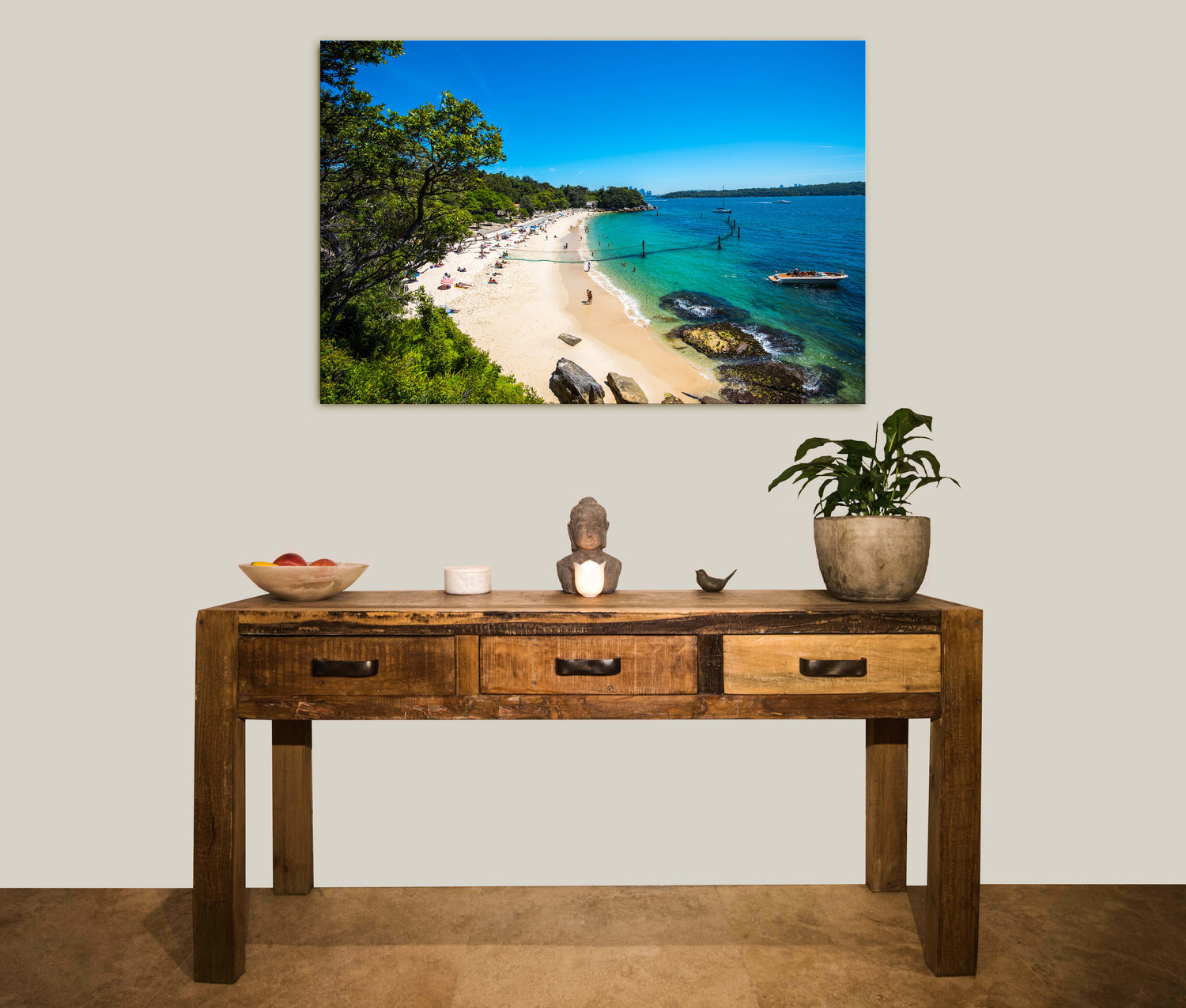 Brighten your home - Sydney Summer photography specialises in stunning glass prints in a range of sizes with a high gloss frameless finish and a concealed wall mounting system.We also deliver free to your home or office,Australia-wide.