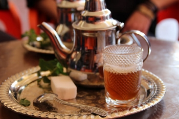 Berber Whiskey, or Mint Tea!