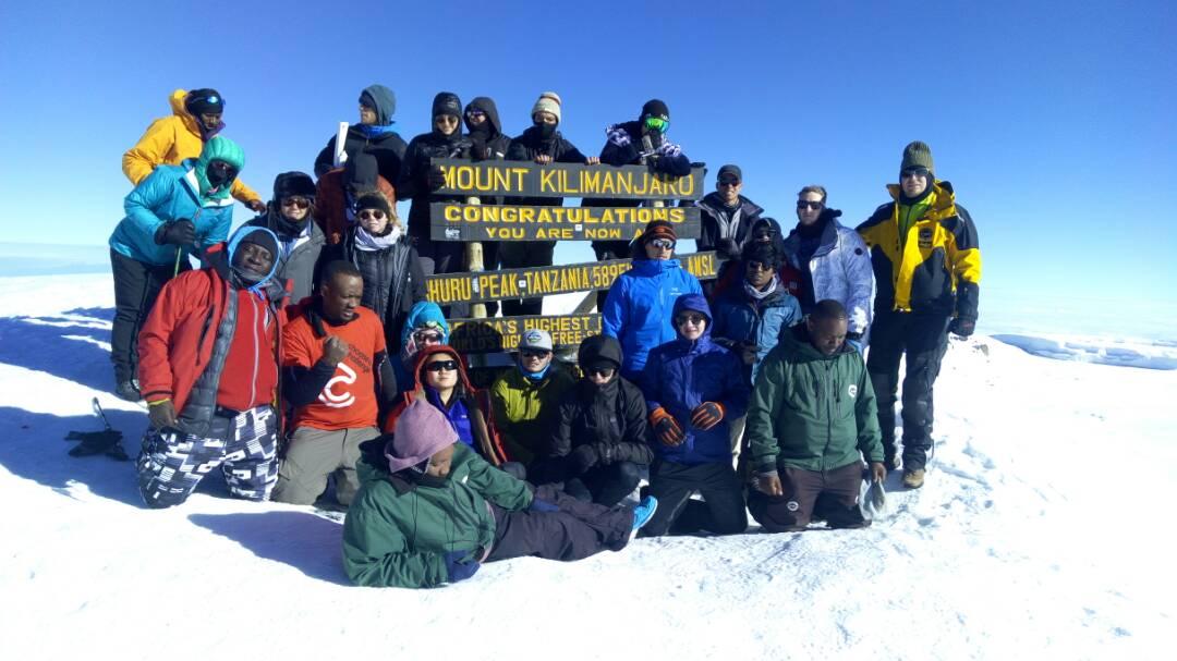 Kilimanjaro Summit in Snow