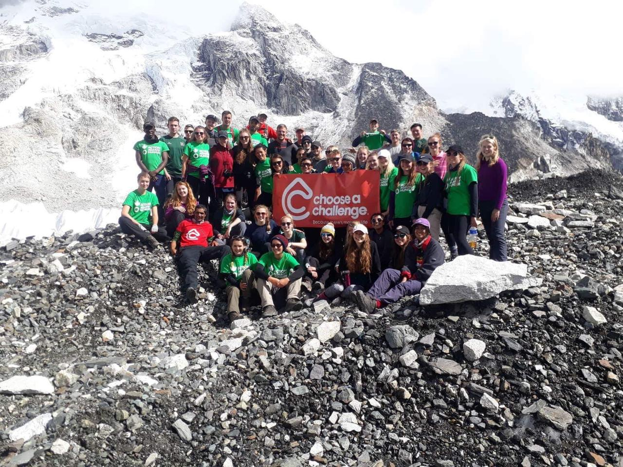 Team at Everest Base Camp Choose a Challenge
