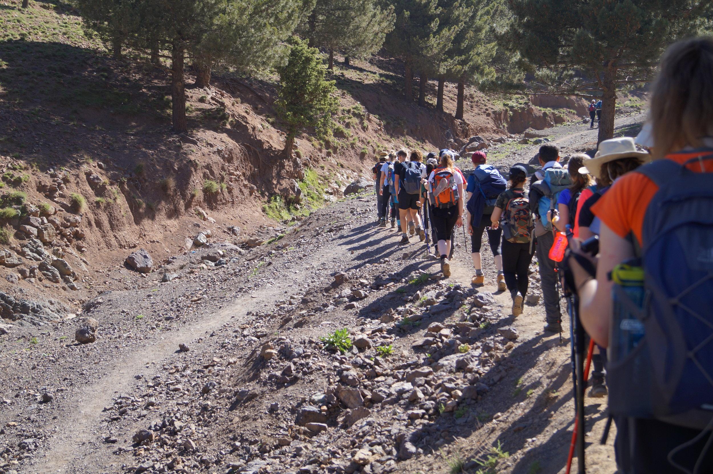 Morocco Trek
