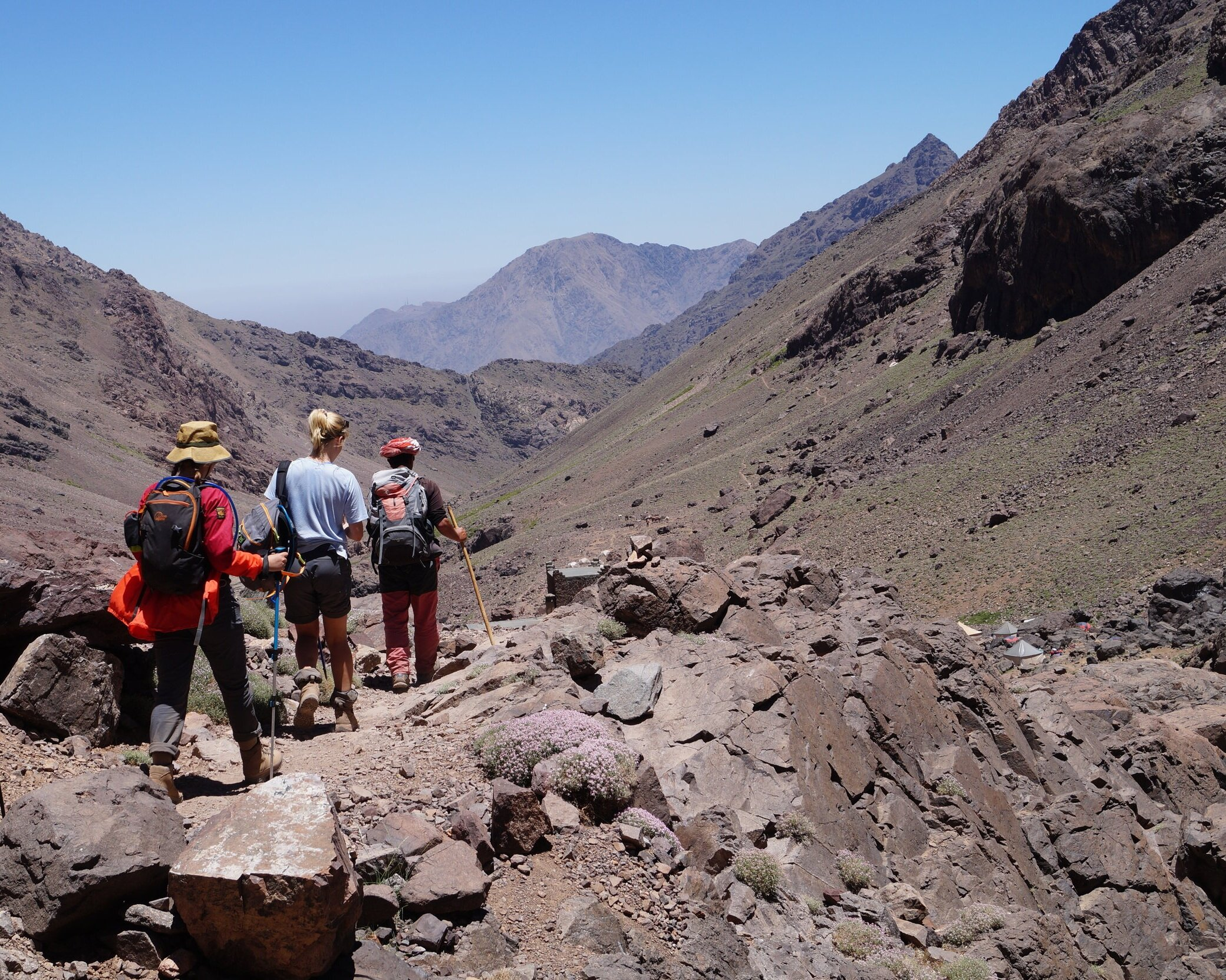 HIGH ATLAS MOUNTAINS TREK - Discover the beauty of Morocco's mountains, a trekkers paradise, on this spectacular hike.8 DAYS | CHALLENGING | FIND OUT MORE