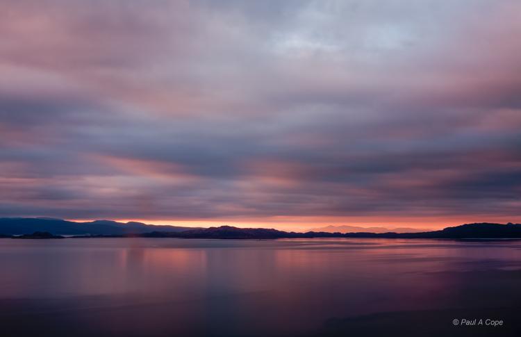 Sun rise on the Isle of Skye, Scotland.jpg