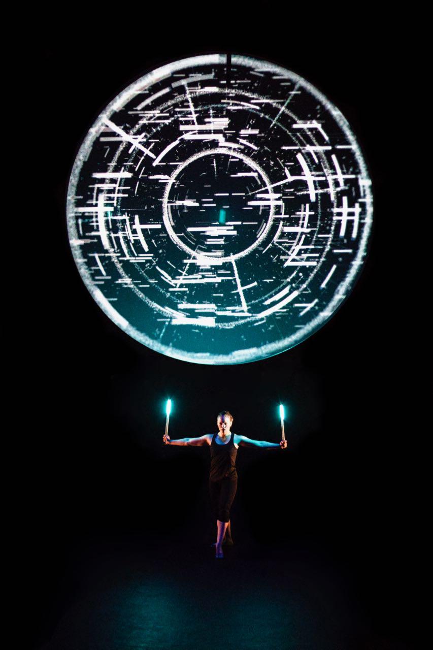 La Vuelta a mi mundo teacro mapping LED
