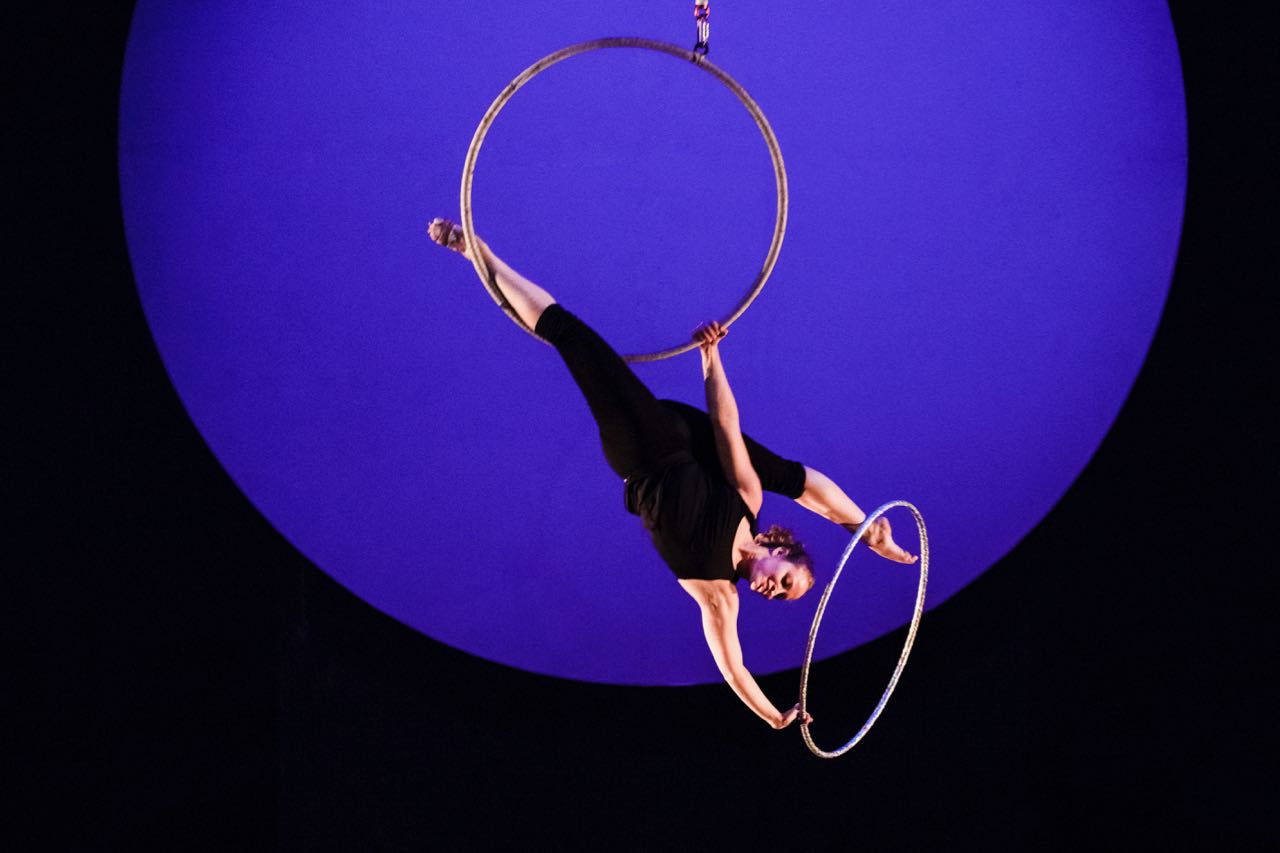 La Vuelta a mi mundo aro hula hoops
