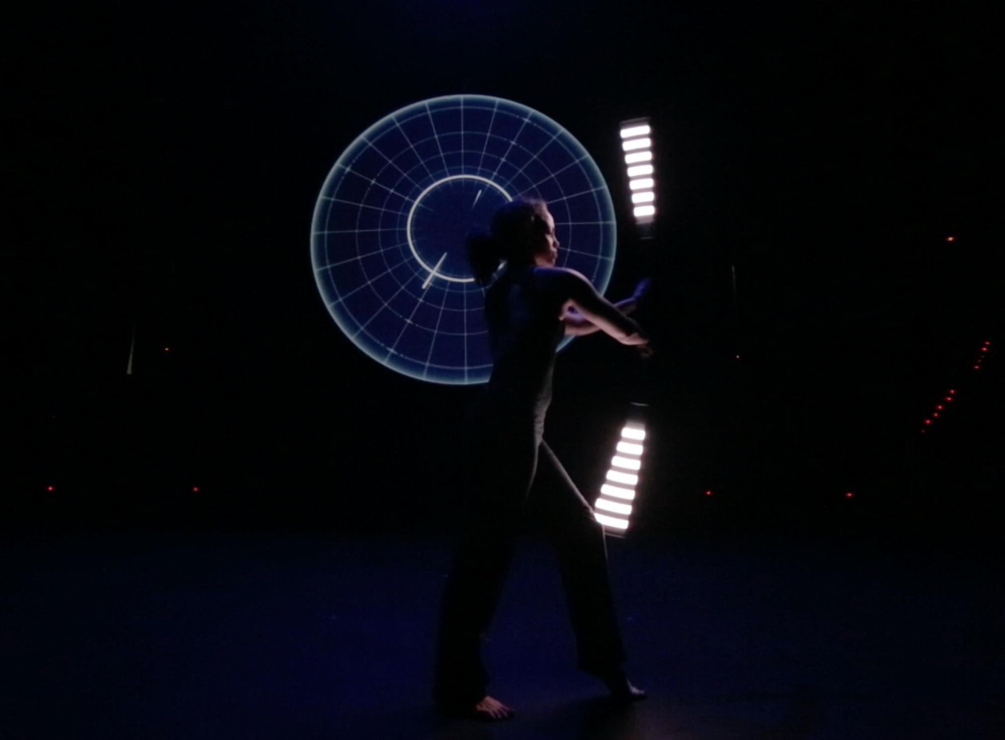 La Vuelta a mi mundo teacro mapping LED 1