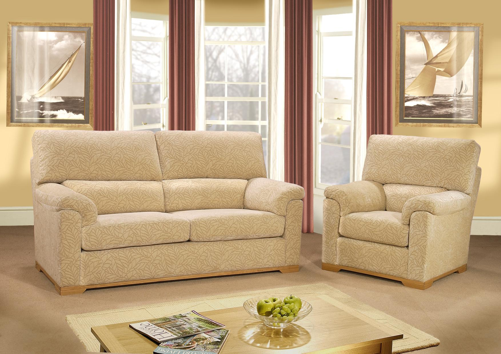3 Seater (2 Cushion)