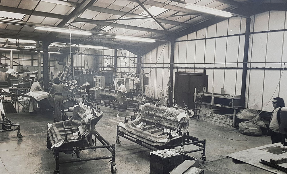Factory in the 1970s