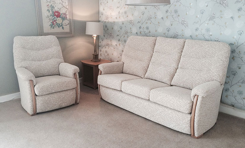 3 Seater & Chair