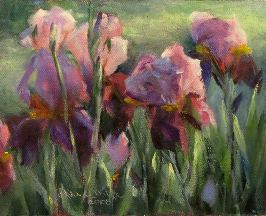 Irises and Light