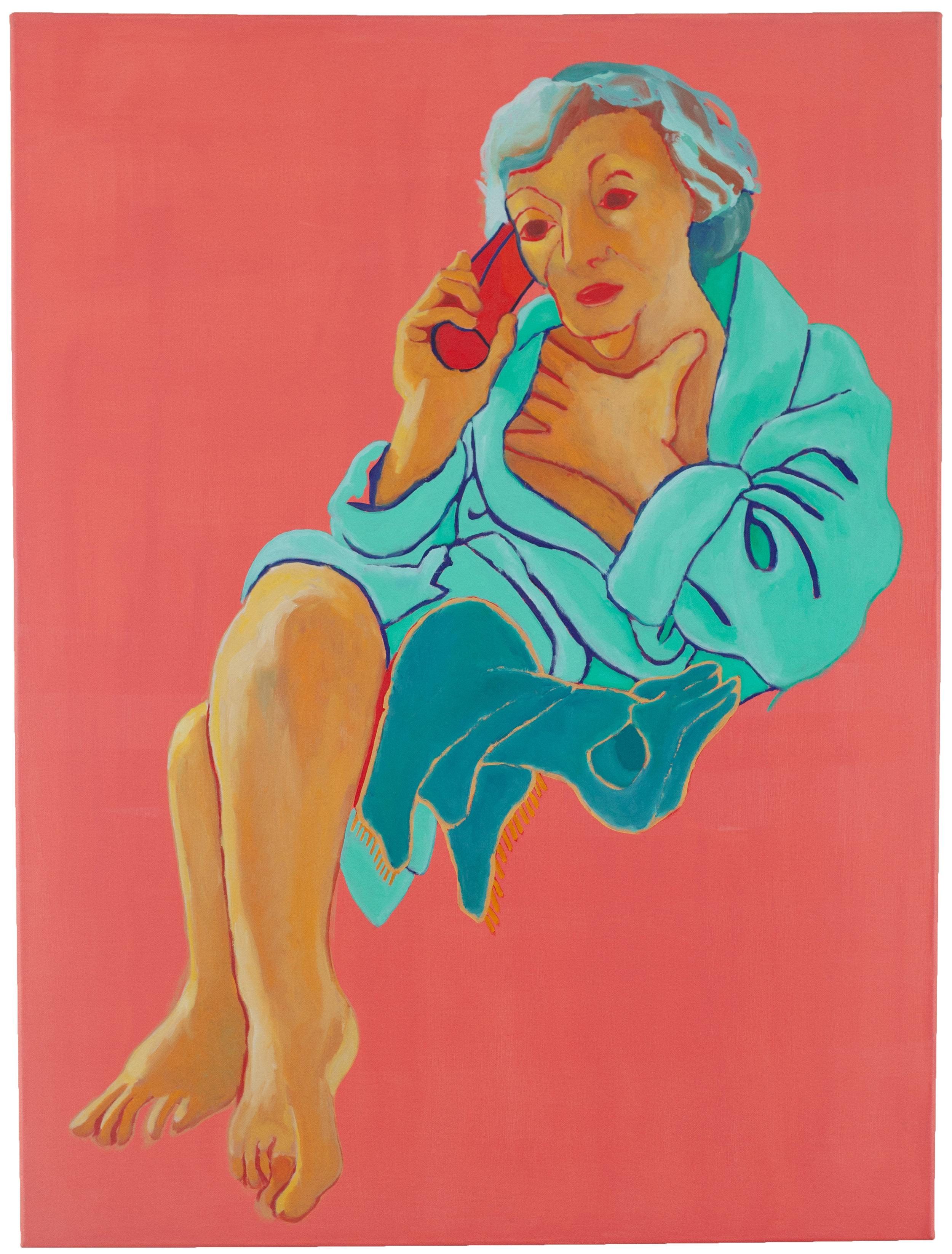 Grandma on Phone