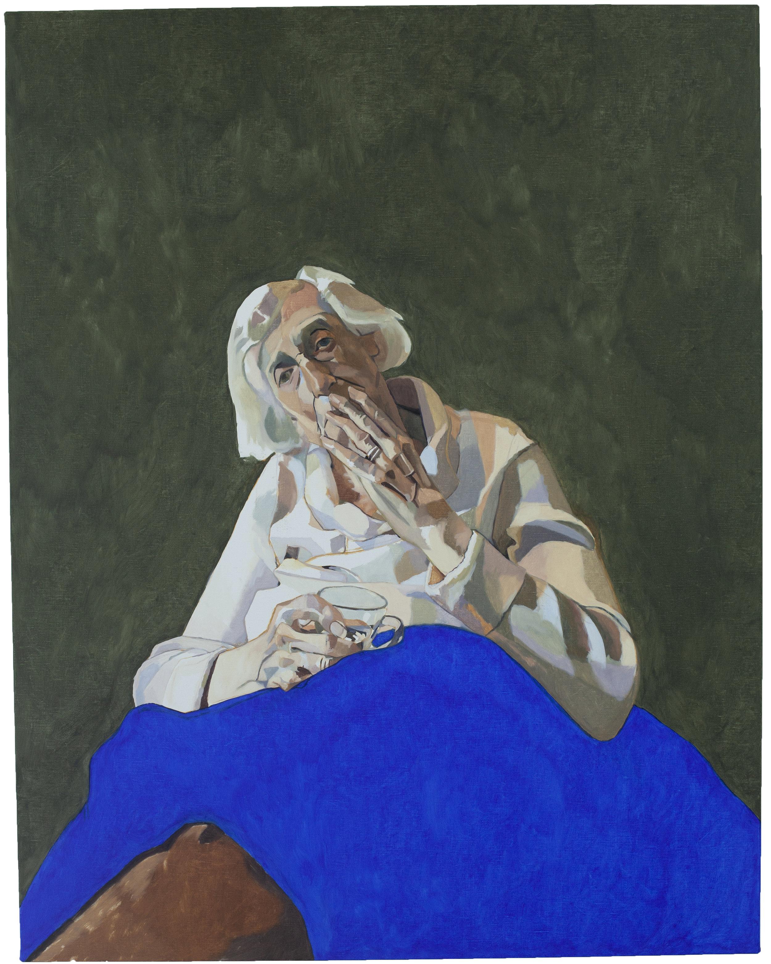 Grandma and Blue Blanket