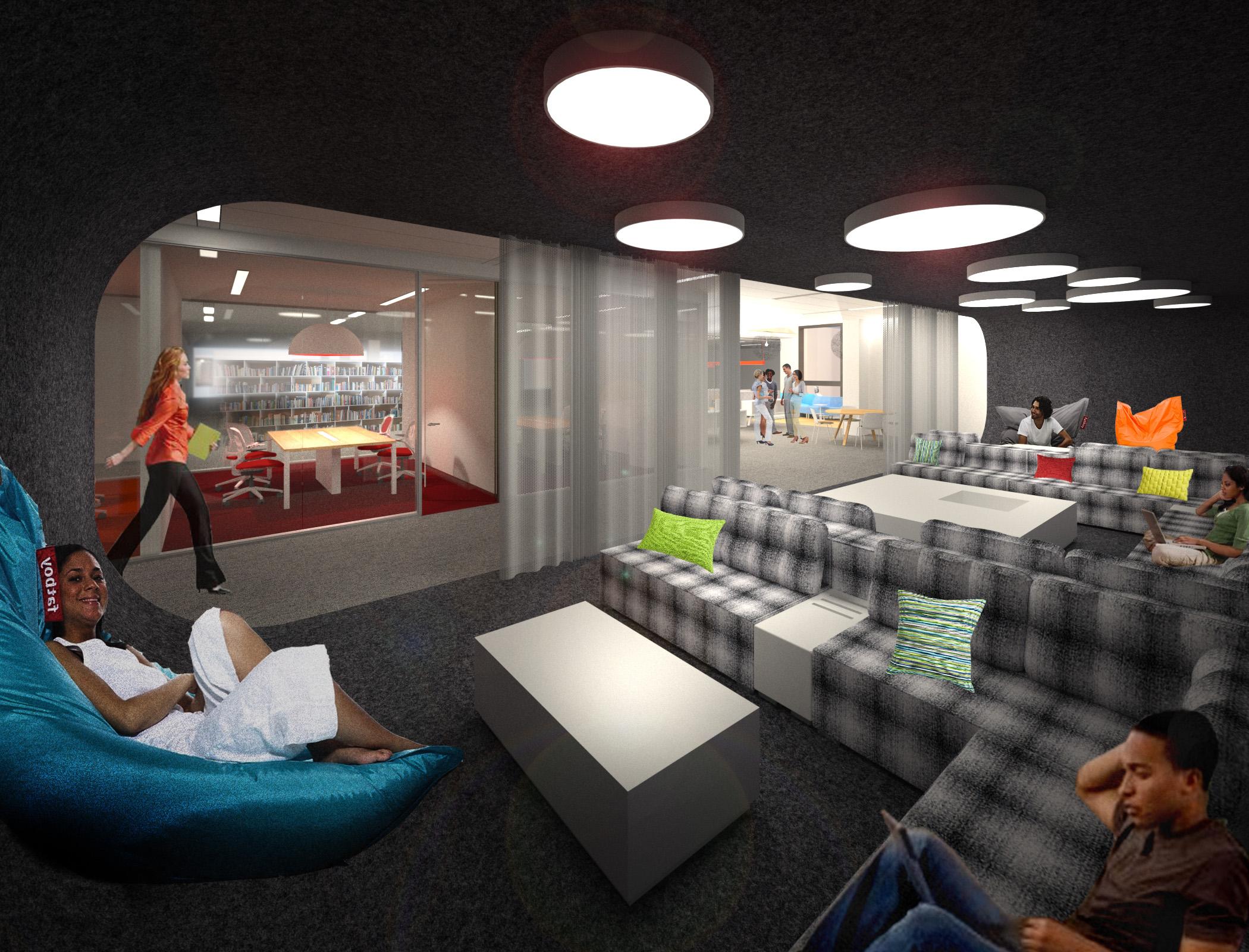 CSU Chico Meriam Library rendering