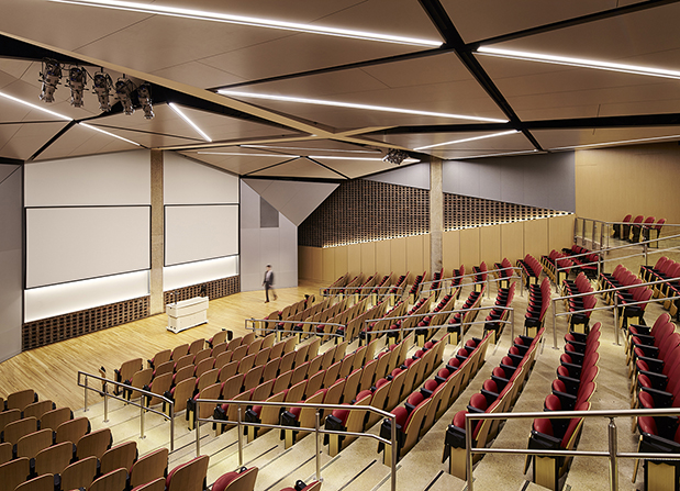 University of Illinois at Chicago Lecture Hall