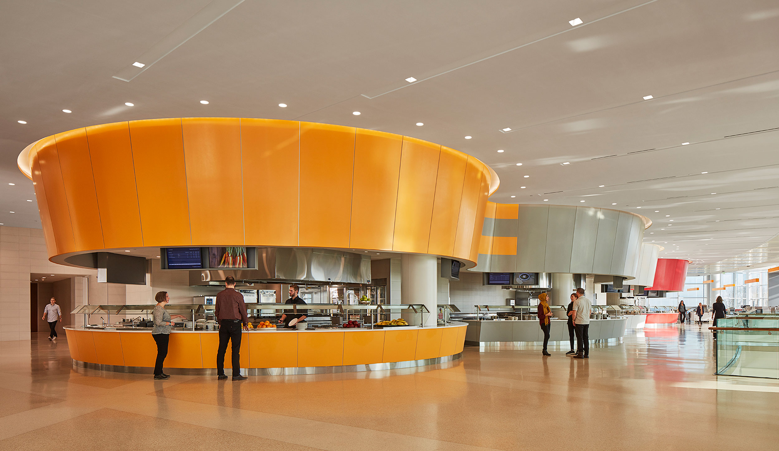 Dining Hall, Northwestern Mutual, Milwaukee, WI (Photo by Tom Harris)