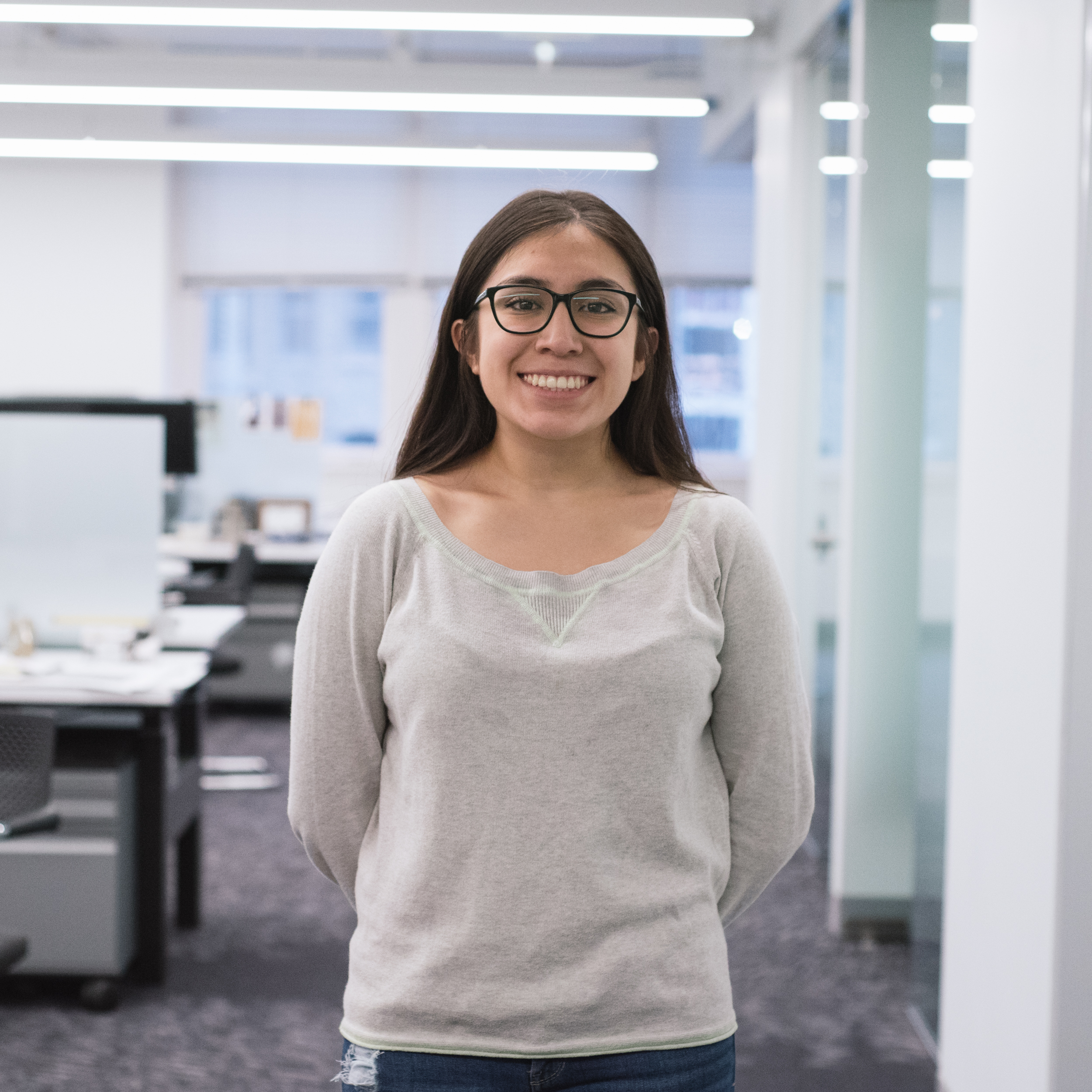 "Galilea Flores  Graduated from Jones College Prep High School, pursuing Civil / Environmental Engineering at University of Illinois at Urbana-Champaign.   ""I feel that most of ACE was important and a great memory. I loved the idea that although we all came from diverse worlds, we all came together and put together the greatest presentation. Great minds are here for moments like that. I also loved using the programs with Ezra on constructing the structure to our building. Technology is literally my BFF."""