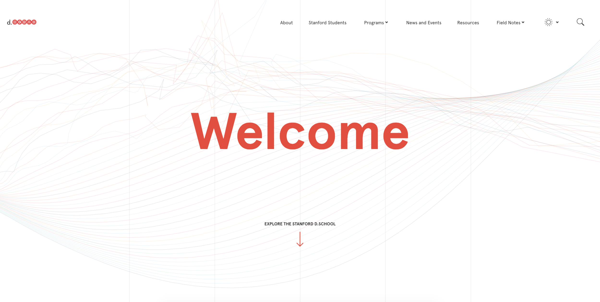 Stanford d.school Website