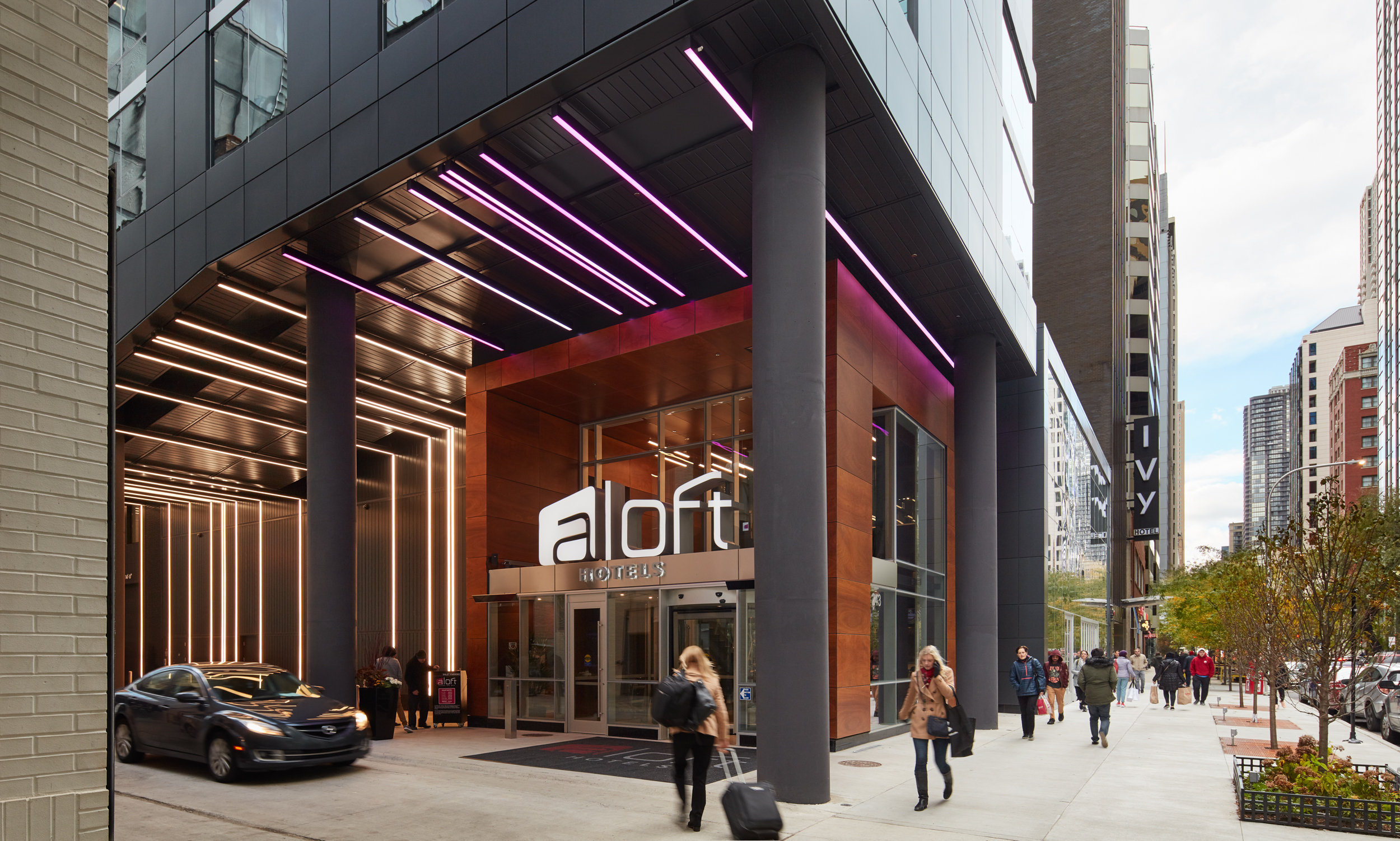 Aloft Hotel Magnificent Mile, Chicago, IL (Photo by Steve Hall)