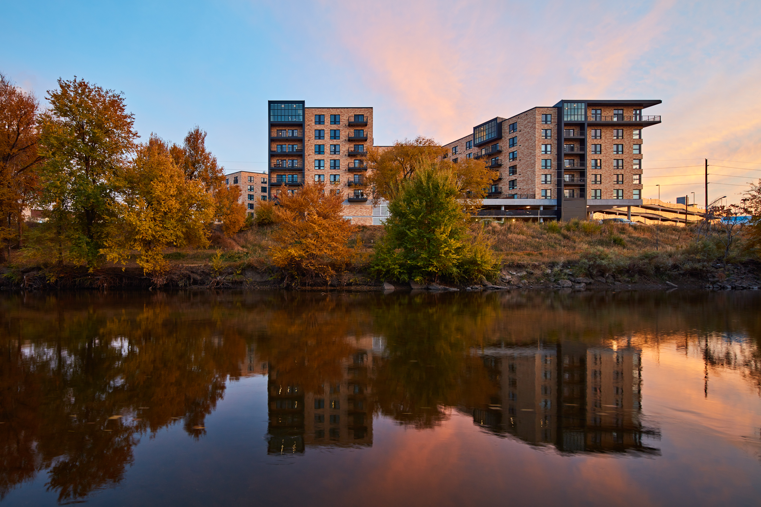 Riverside View of Edison at RiNo by Tom Harris