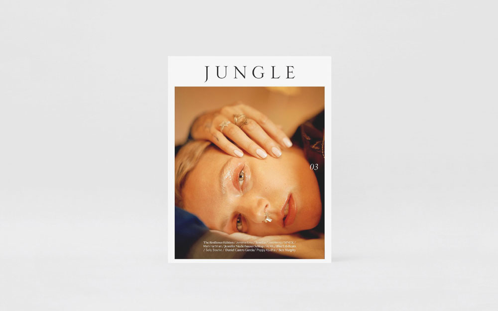 Jungle Edition 03 - JUNGLE Edition 03 explores the notion of 'resilience' – the capacity to recover quickly from difficulties; toughness. Edition 03 was curated and created from cover to cover to share the stories of the resilient. Jemima Kirke, Tove Lo and commissioned artwork by Jon Henry grace the 3 covers of the edition.· · · · · EXPLORE
