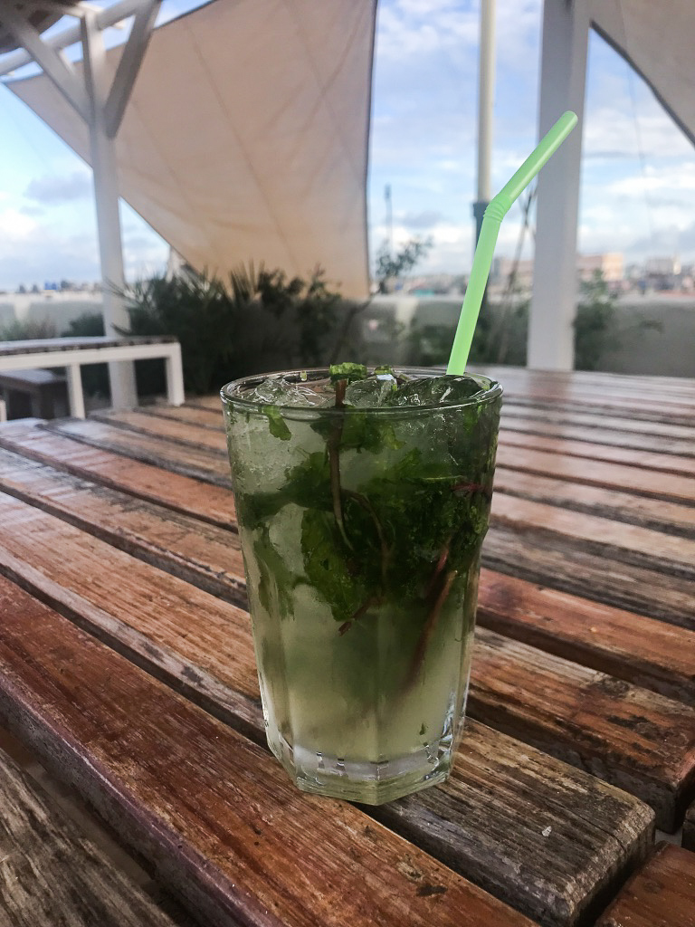 Our Casa de Particular had a great rooftop with endless mojitos!