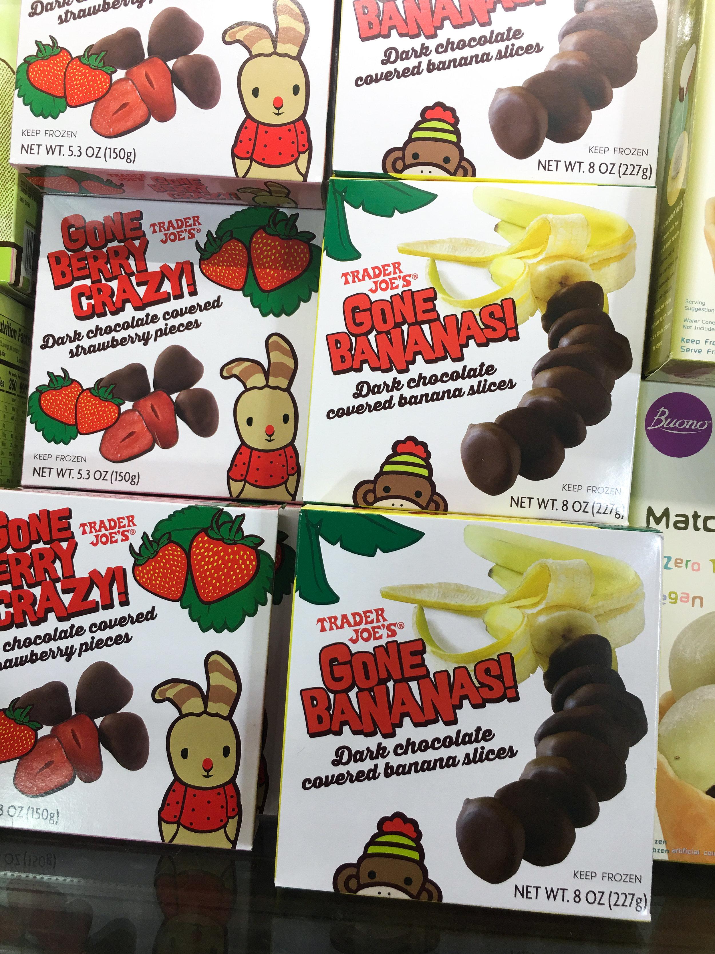 Chocolate Covered Berries & Bananas