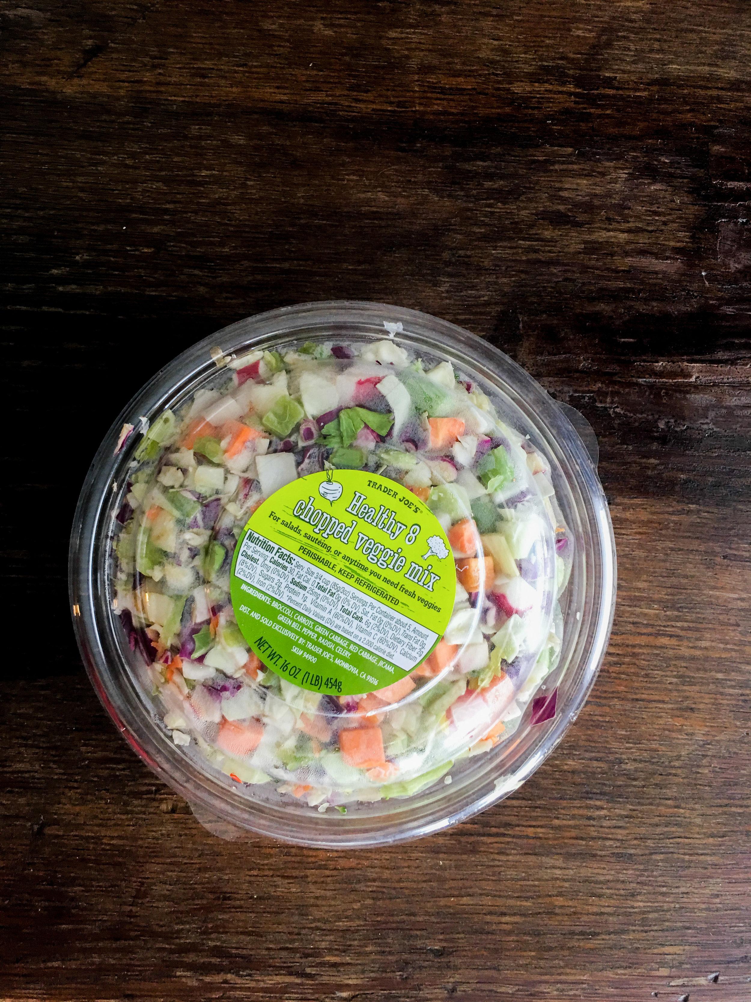 Pre-Diced Veggie Mix