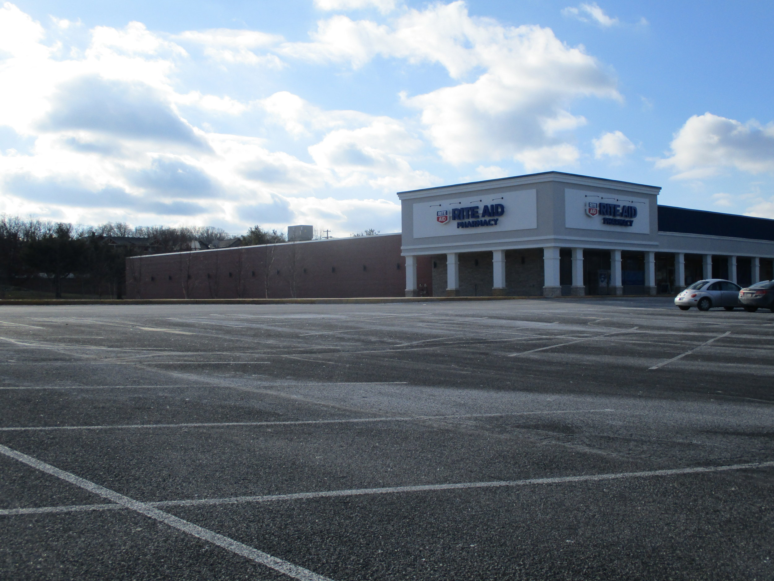 4. Empty space on Westerly Parkway