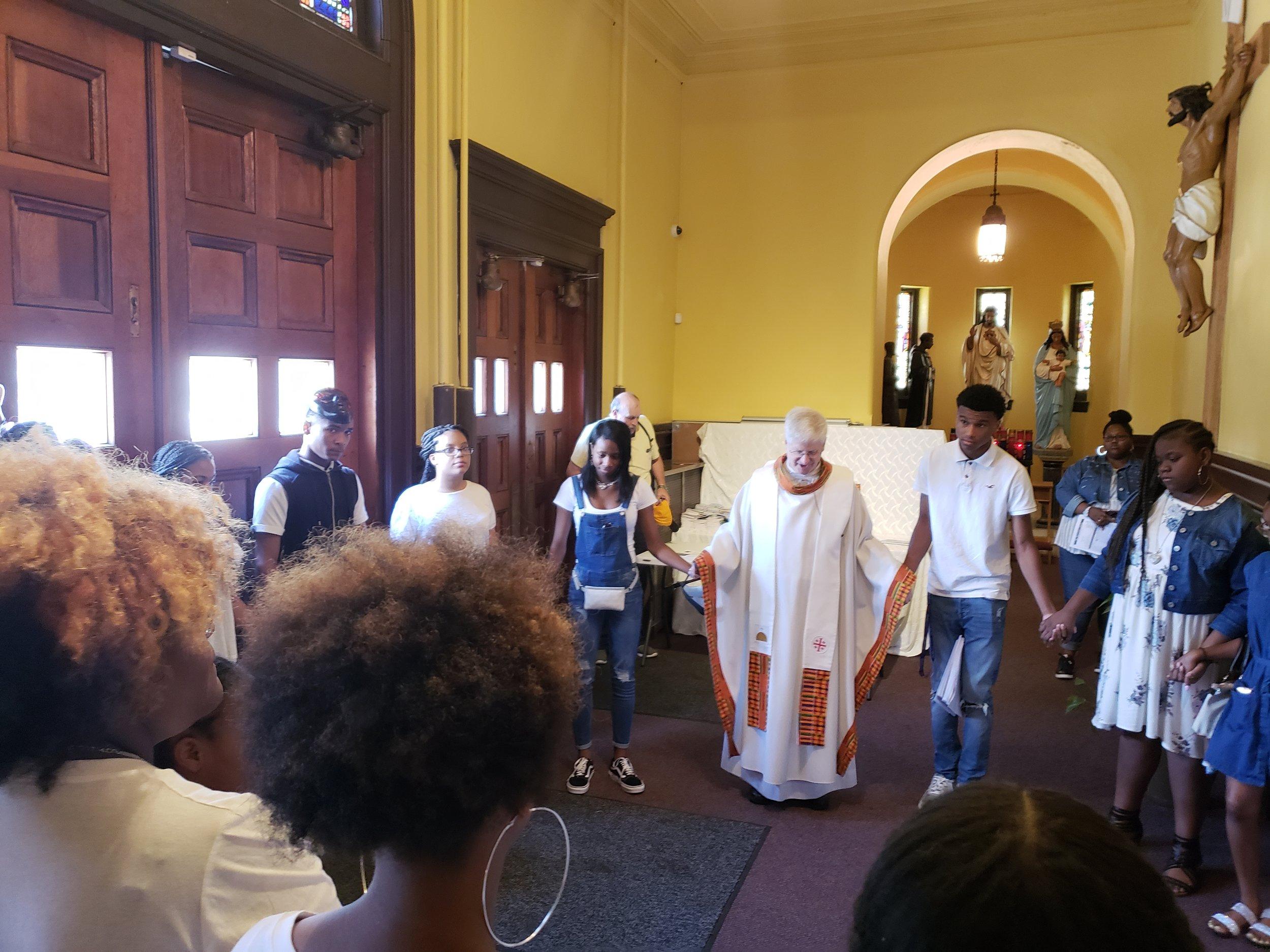 Prayer before mass