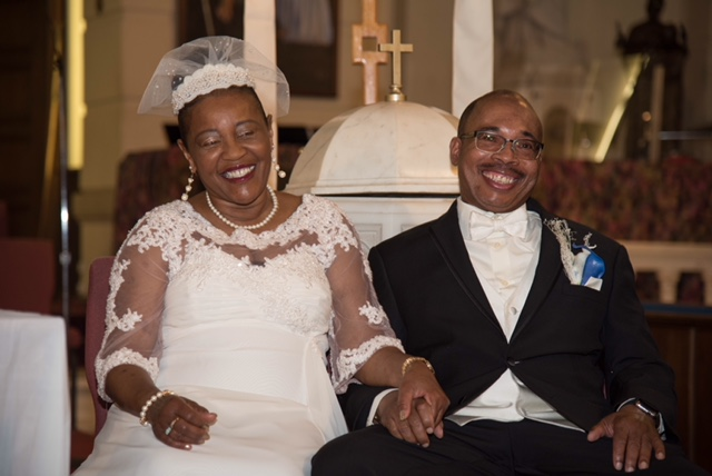 Wedding Day April 5, 2018 Charles and Denise Countess